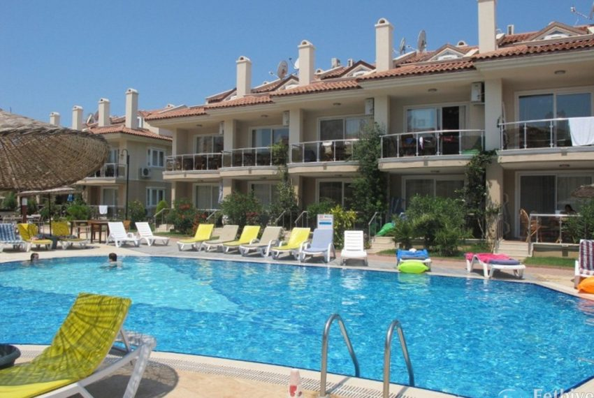 Rent Sunset Beach Club Apartment 3+1 Fethiye Lettings