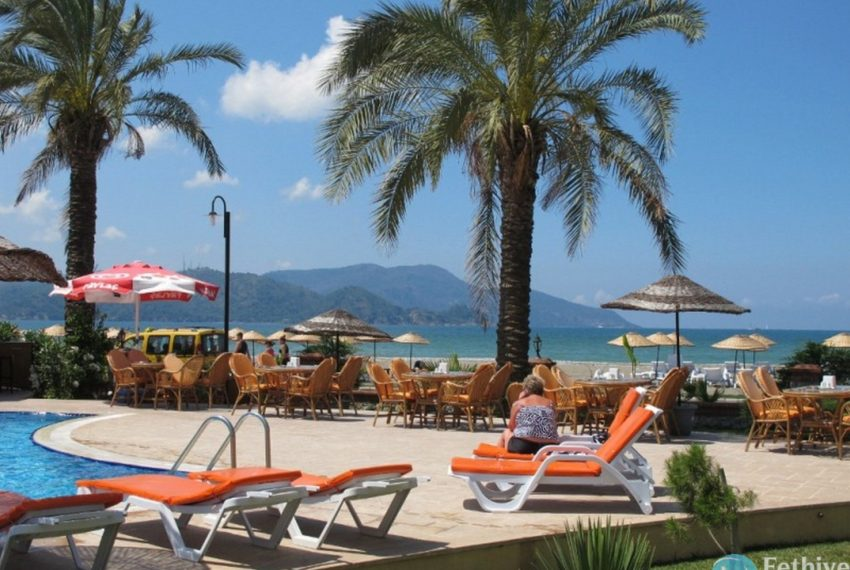 Sea View Apartment Sun Set Beach Club Rent Fethiye Lettings 09