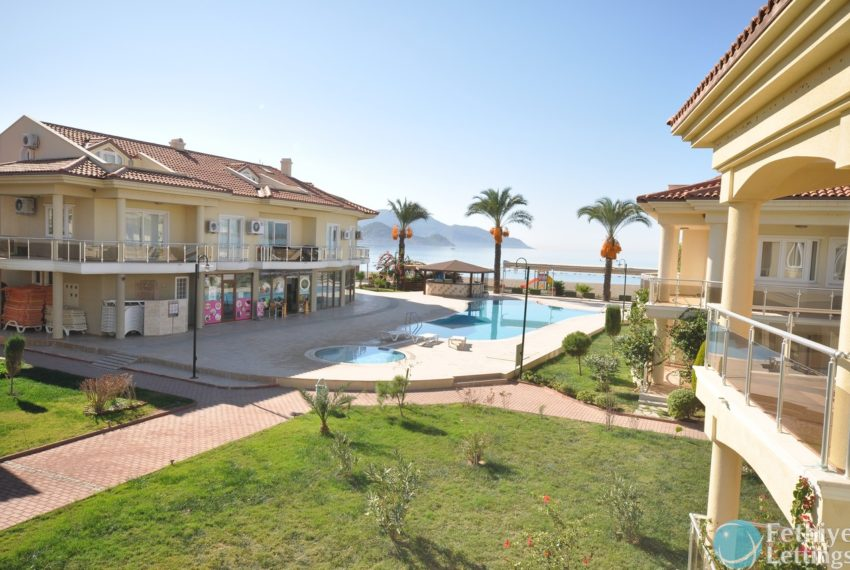 Sea View Apartment Sun Set Beach Club Rent Fethiye Lettings 16