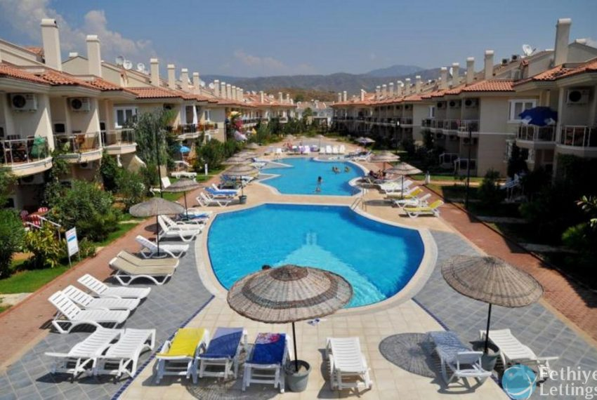 Sea View Apartment Sun Set Beach Club Rent Fethiye Lettings 30