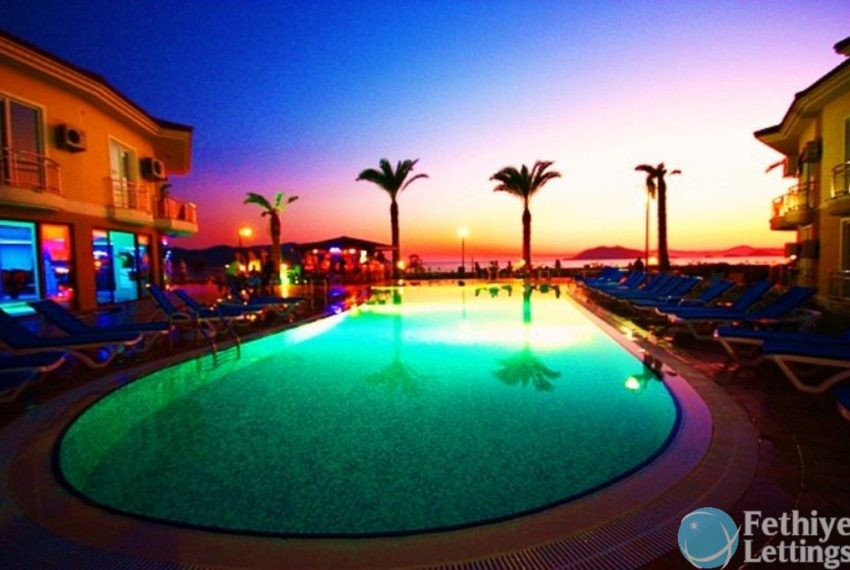 Sun Set Beach Club Rent 2 Bedroom Apart Fethiye Lettings 11