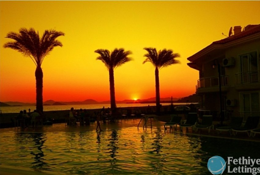 Sun Set Beach Club Rent 2 Bedroom Apart Fethiye Lettings 13