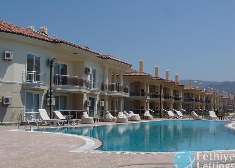 Sunset Beach Club 3 Bedroom Holiday Apartment to Rent Fethiye Lettings