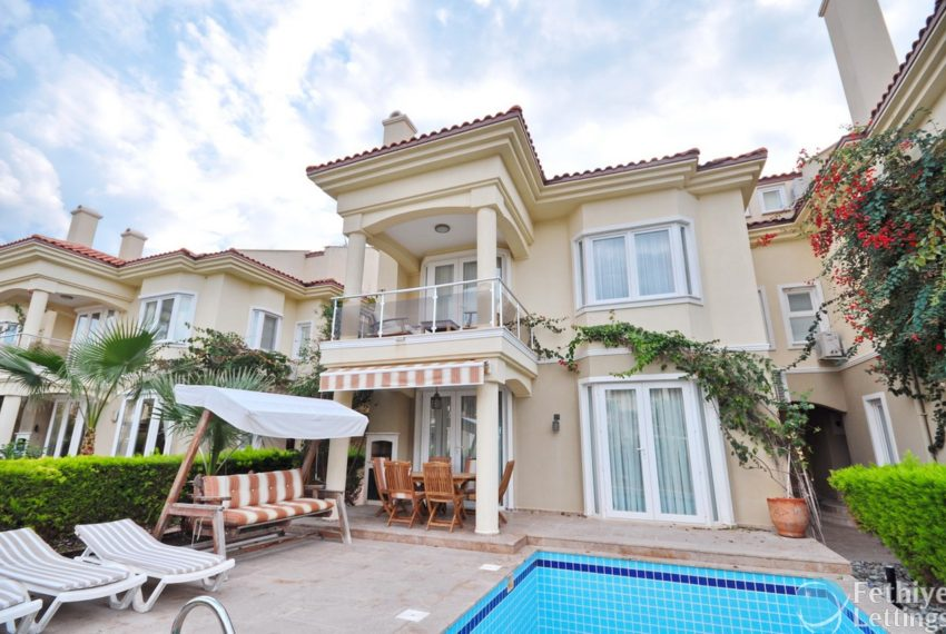 Villa with Private Beach for Rent Fethiye Lettings 01