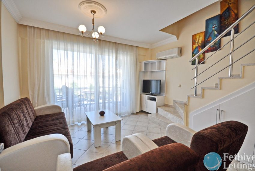 sea view apartments to rent Fethiye Lettings 06