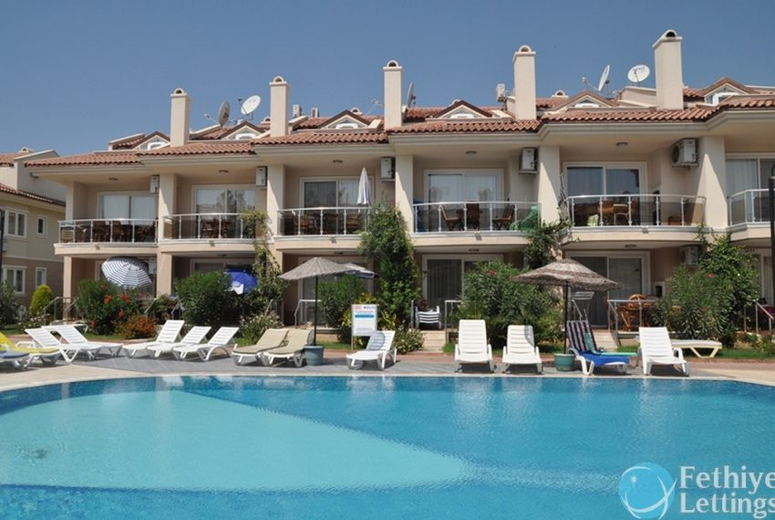 sea view apartments to rent Fethiye Lettings 27