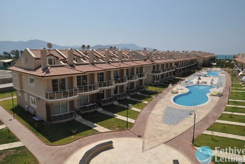 sea view apartments to rent Fethiye Lettings 30