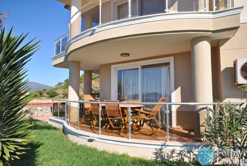 Beachfront Rent 5 Bedroom Private Villa in Fethiye - Fethiye Lettings 01