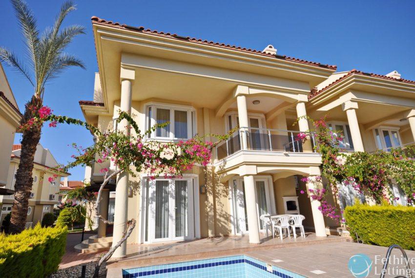 Beachfront Villa for Rent Fethiye Lettings 01