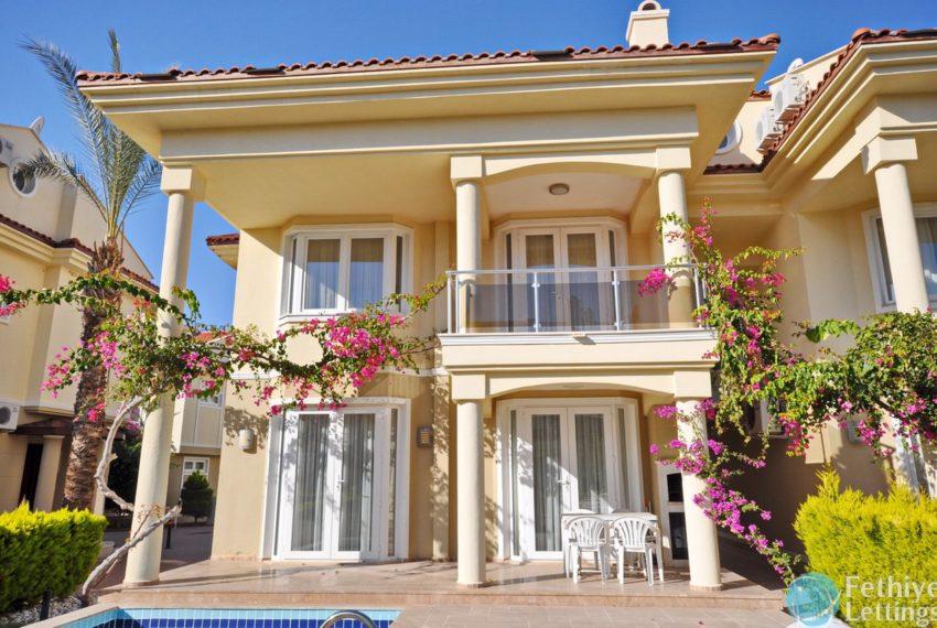 Beachfront Villa for Rent Fethiye Lettings 02