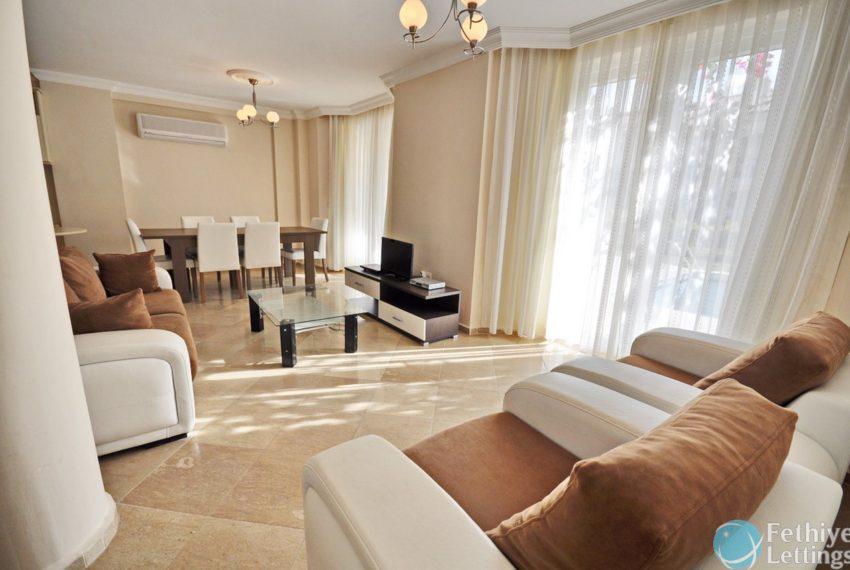 Beachfront Villa for Rent Fethiye Lettings 04