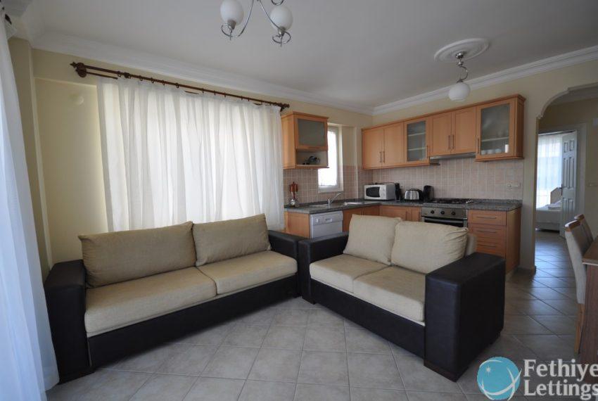 Rent Sea View Apartment sun Set Beach Fethiye Lettings 17