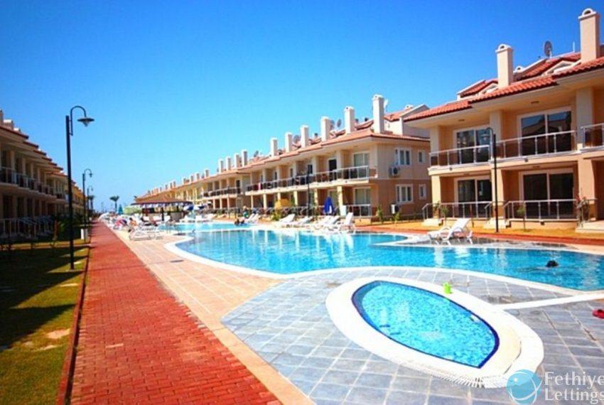 Sea View Apartment Rent Sun Set Beach Club Fethiye Lettings 01