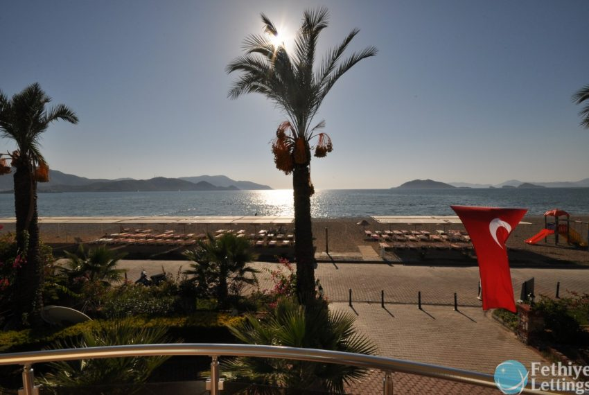 Sea View Apartment Rent Sun Set Beach Club Fethiye Lettings 07