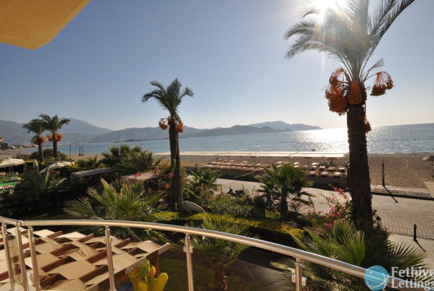 Sea View Apartment Rent Sun Set Beach Club Fethiye Lettings