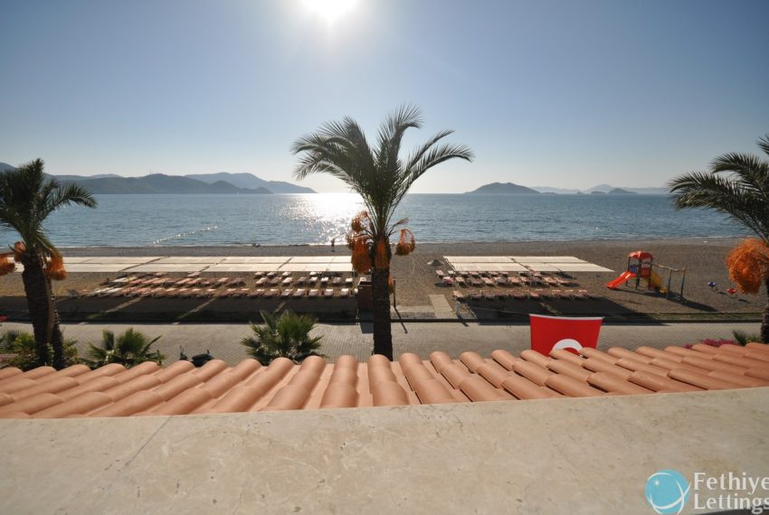 Sea View Apartment Rent Sun Set Beach Club Fethiye Lettings 23