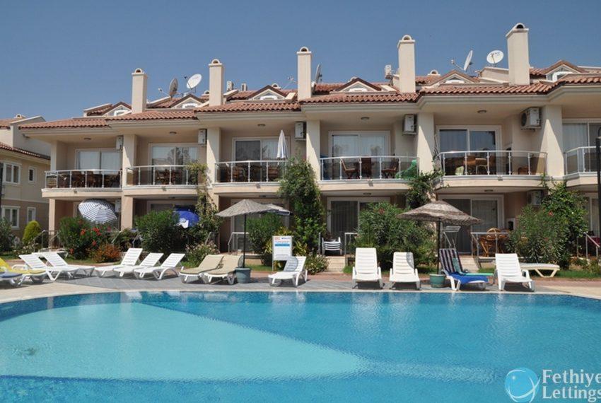 Sea View Apartment Rent Sun Set Beach Club Fethiye Lettings 25