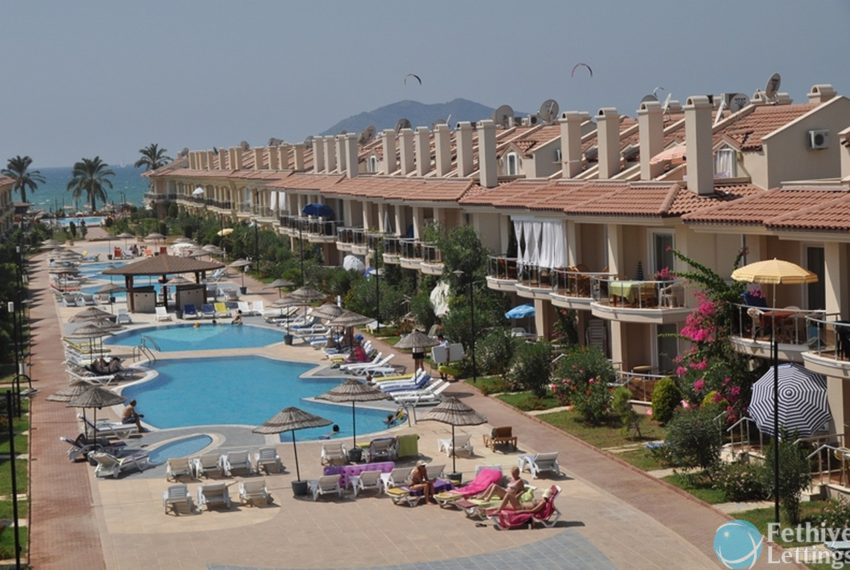 Sea View Apartment Rent Sun Set Beach Club Fethiye Lettings 26