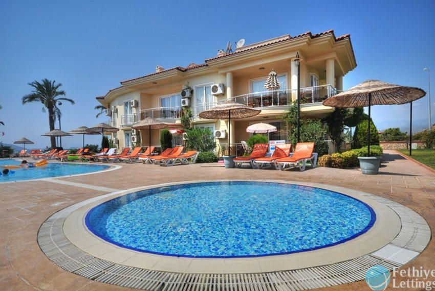Sea View Apartment Rent Sun Set Beach Club Fethiye Lettings 28