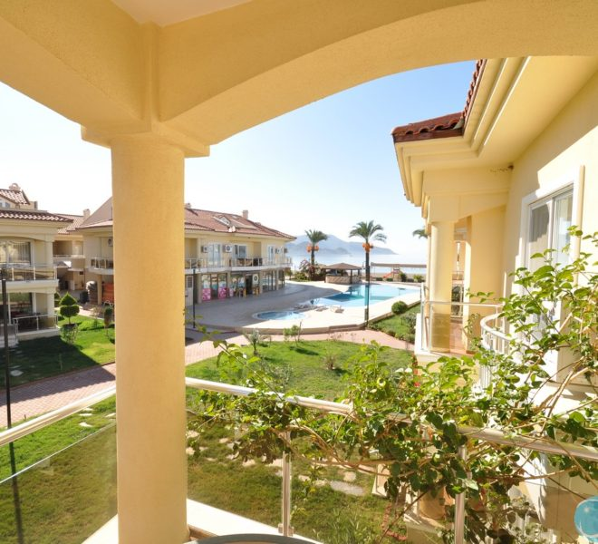 Sea View Apartment Sun Set Beach Club Rent Fethiye Lettings