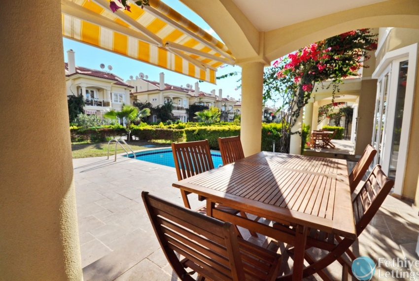 Sun Set Beach Club 4 Bedroom VillaFethiye Lettings 04