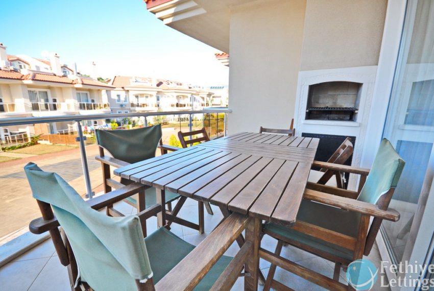 Sun Set Beach Club Rent 2 Bedroom Apart Fethiye Lettings 02