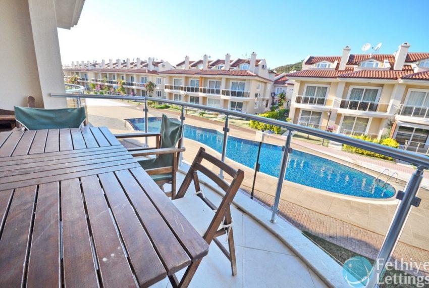 Sun Set Beach Club Rent 2 Bedroom Apart Fethiye Lettings 03