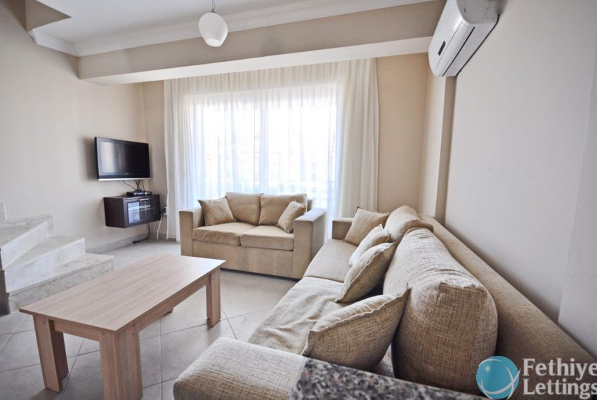 Sun Set Beach Club Rent 2 Bedroom Apart Fethiye Lettings 05
