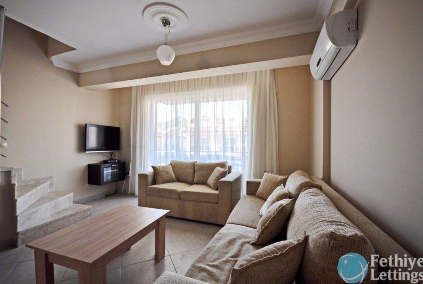 Sun Set Beach Club Rent 2 Bedroom Apart Fethiye Lettings 06