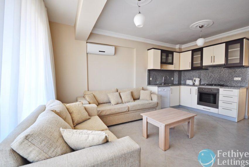 Sun Set Beach Club Rent 2 Bedroom Apart Fethiye Lettings 07