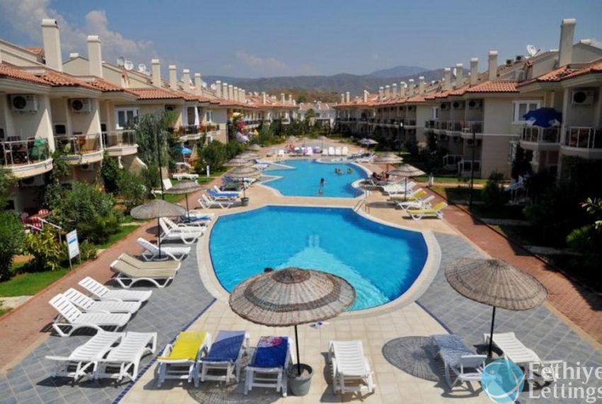 Sun Set Beach Club Rent 2 Bedroom Apart Fethiye Lettings 30