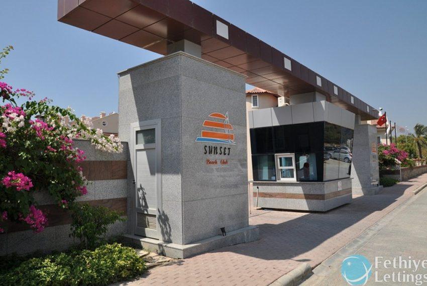 Sun Set Beach Club Rent 2 Bedroom Apart Fethiye Lettings 32