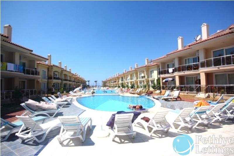 Sunset Beach Club 3 Bedroom Holiday Apartment to Rent Fethiye Lettings 01