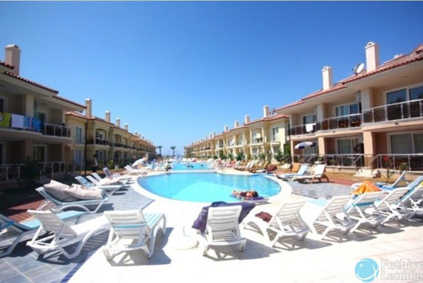 Sunset Beach ClubApartment 3+1 Fethiye Lettings 24