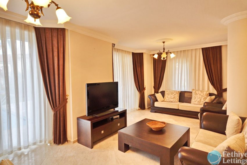 Villa with Private Beach for Rent Fethiye Lettings 03