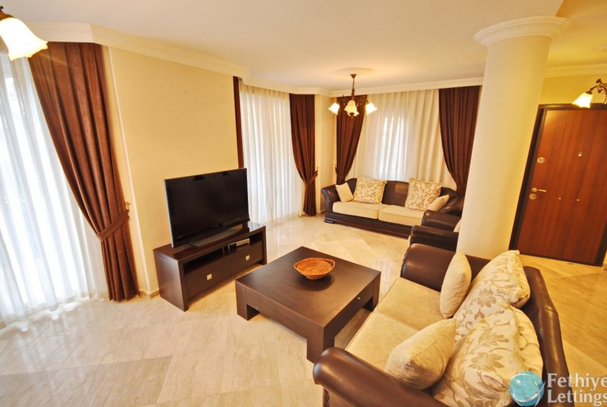 Villa with Private Beach for Rent Fethiye Lettings 04