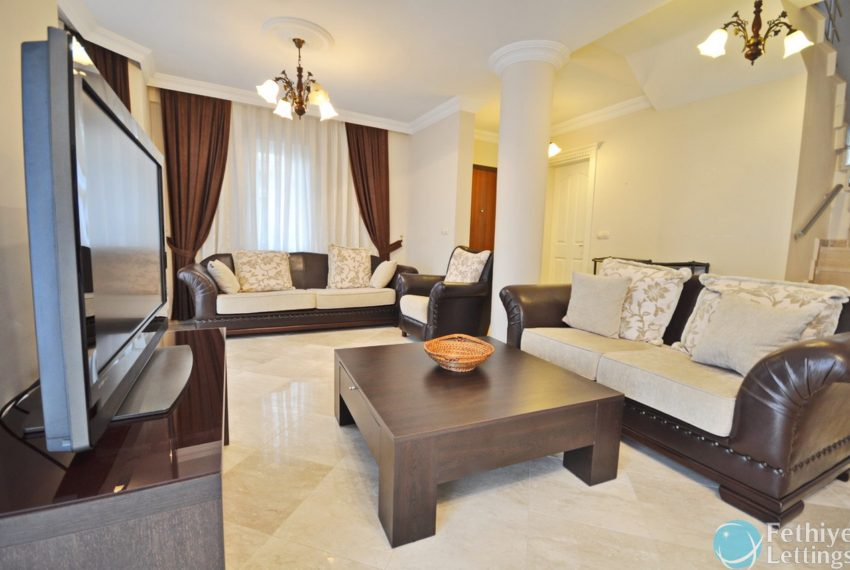 Villa with Private Beach for Rent Fethiye Lettings 05